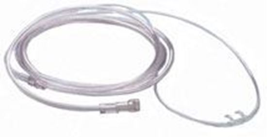 Picture of Roscoe Adult Curved Soft Nasal Cannula with 4' crush-resistant tubing