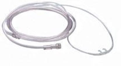 Picture of Roscoe Adult Curved Soft Nasal Cannula with 7' crush-resistant tubing
