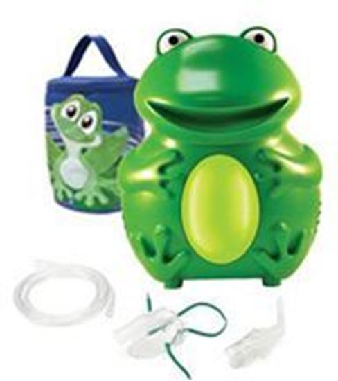 Picture of Roscoe Pediatric Frog Nebulizer System with Disposable Neb Kit
