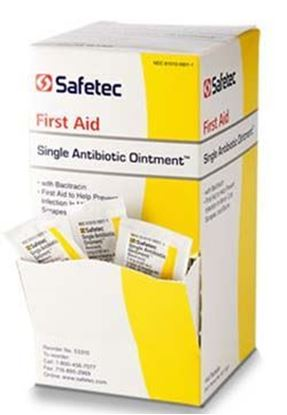 Picture of Safetec® Single Antibiotic Ointment with Bacitracin 0.9g pouch