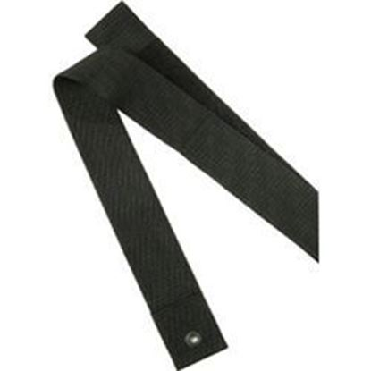 "Picture of Seat Belt, Adult, Black Velcro, Size: 2"" x 48"""