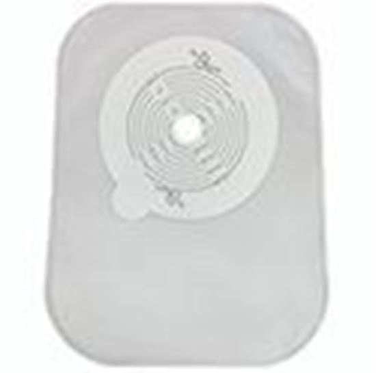 """Picture of Securi-T ® USA,8"""" Closed-End Pouch,Filter,Transparent Cut-to-Fit ½""""-2½""""(13-64mm)"""
