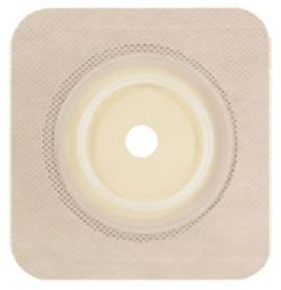 """Picture of Securi-T ® USA,Flat Wafer, Cut-to-Fit/Flexible Collar,Flange 1¾"""",4¼"""" x 4¼"""",Tan"""