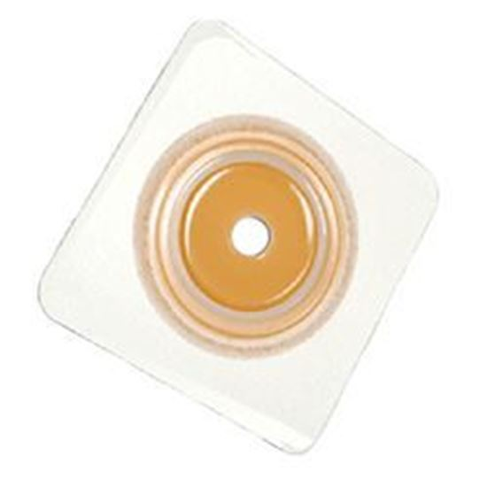 """Picture of Securi-T®Flat Wafer,Cut-to-Fit/Flxble Collar,Flange 1¾"""",White"""