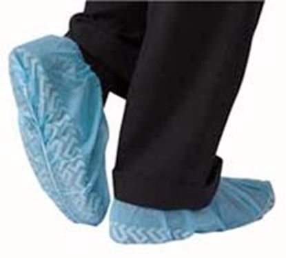 Picture of Shoe Cover, Non-Skid, Non-Conductive, Blue