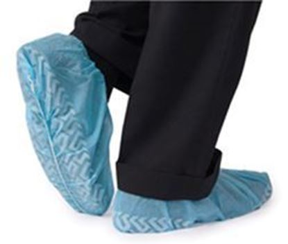 Picture of Shoe Cover, Non-Skid, Non-Conductive, X-Large, Blue