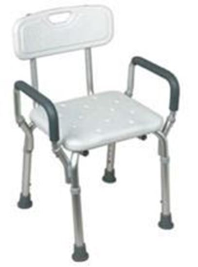 Picture of Shower Chair with Back and Handles, Adjustable