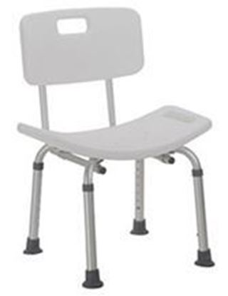 Picture of Shower Chair with Back, Adjustable