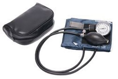 Picture of Standard Pocket Aneroid Sphygmomanometer, Large Adult, Navy Blue