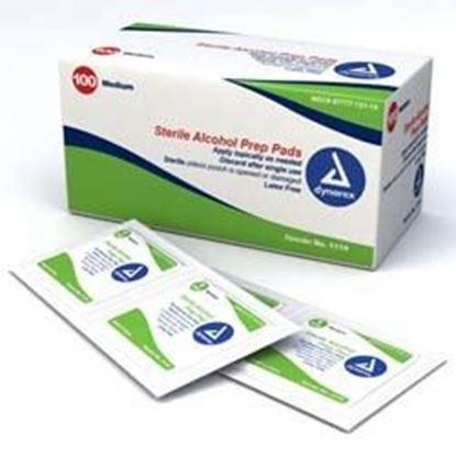 Picture of Alcohol Prep Pads, Sterile, 70% Isopropyl