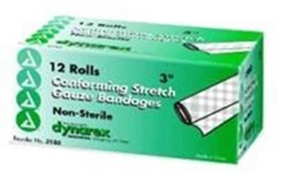 """Picture of Stretch Gauze Bandage Roll 3"""", Non-Sterile"""