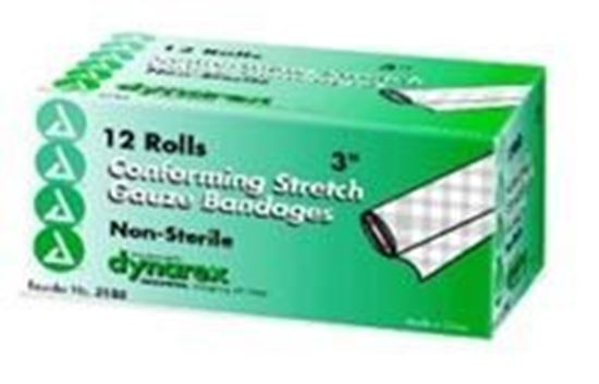 "Picture of Stretch Gauze Bandage Roll 3"", Non-Sterile"