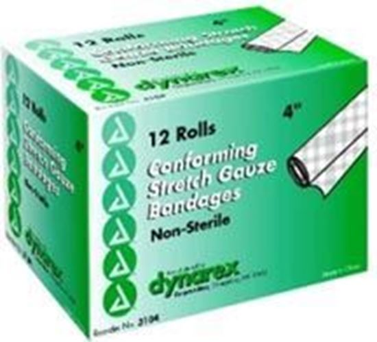 """Picture of Stretch Gauze Bandage Roll 4"""", Non-Sterile"""