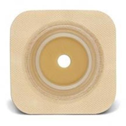 "Picture of Durahesive® Skin Barrier, upto 1"" Cut-to-Fit, 1½"" Flange, Tape, Box/10, Tan"