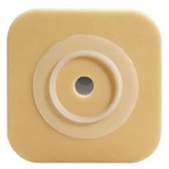 """Picture of Durahesive® Skin Barrier, upto 1¼"""" Cut-to-Fit, 1¾"""" Flange, Box/10, White"""