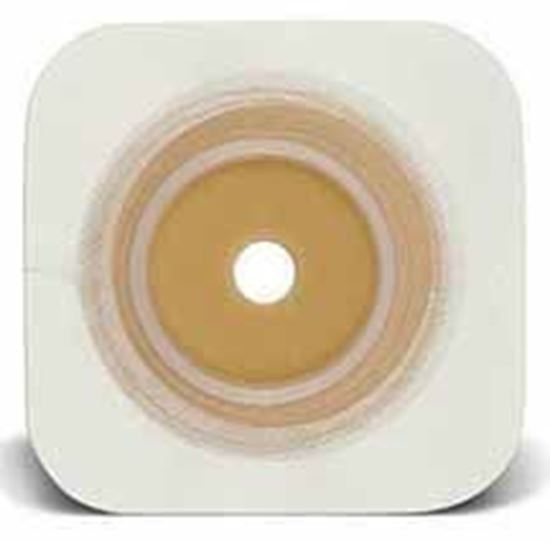 "Picture of Durahesive® Skin Barrier, upto 1¾"" Cut-to-Fit, 2¼"" Flange, Tape, Box/10, White"