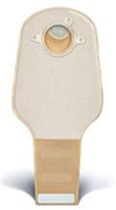 """Picture of Two Piece System Drainable 12"""" Pouch,  2¼"""" Flange, Clip, Filter, Box/20, Opaque"""