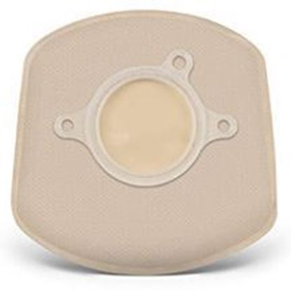 """Picture of Two Piece System Closed 5"""" Mini Pouch, 1¼"""" Flange, Box/20, Opaque"""