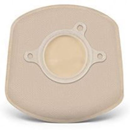 """Picture of Two Piece System Closed 5"""" Mini Pouch, 1½"""" Flange, Box/20, Opaque"""