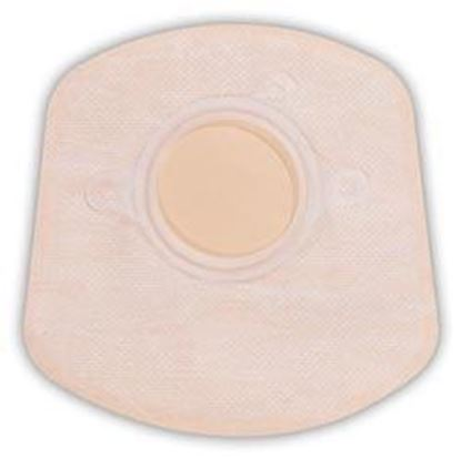 """Picture of Two Piece System Closed 5"""" Mini Pouch, 2¼"""" Flange, Box/20, Opaque"""