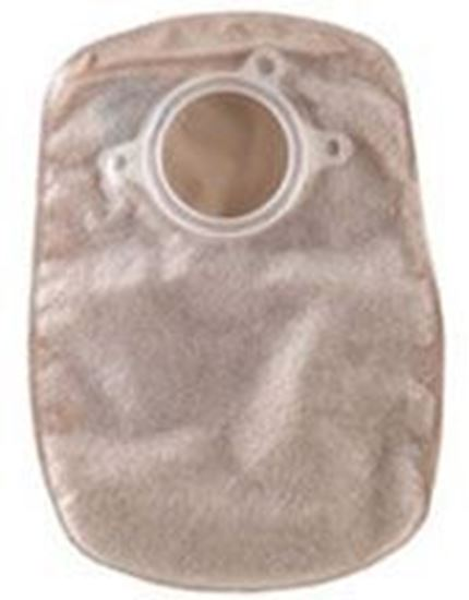"Picture of Two Piece System Closed 8"" Pouch, 2¾"" Flange, Box/60, Opaque"