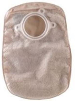 """Picture of Two Piece System Closed 8"""" Pouch, 1¾"""" Flange, Filter, Box/30, Opaque"""