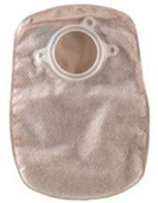 "Picture of Two Piece System Closed 8"" Pouch, 1¾"" Flange, Filter, Box/60, Opaque"