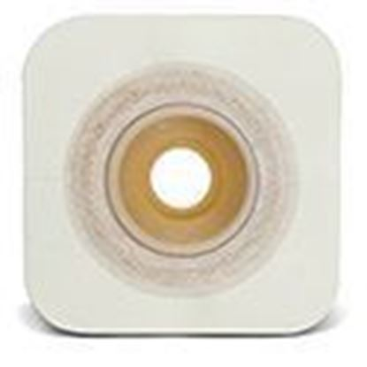 "Picture of Durahesive® CONVEX-IT® Skin Barrier, 1 1/8"" Pre-Cut, 1¾"" Flange, Tape, Box/10, White"