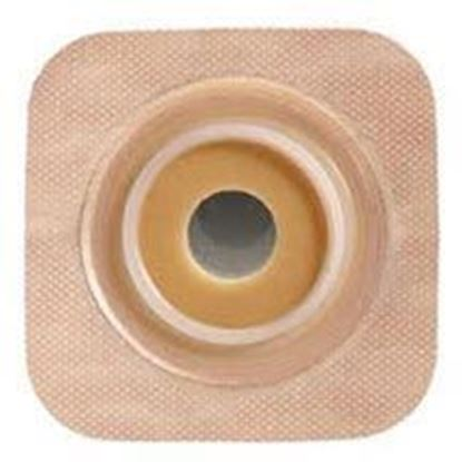"Picture of Stomahesive® Flexible Skin Barrier, 7/8"" Pre-Cut, 1¾"" Flange, Tape, Box/10, Tan"