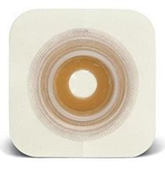 """Picture of Durahesive® Skin Barrier, ½-7/8"""" Mold-to-Fit Stoma, 1¾"""" Flange, Tape, White"""