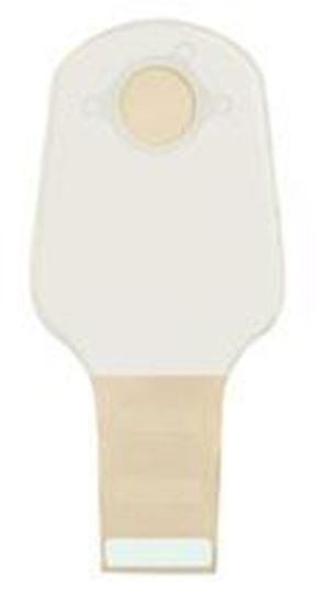 """Picture of Two Piece System Drainable 12"""" Pouch, 1¾"""" Flange, InvisiClose®, Opaque"""