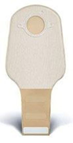 """Picture of Two Piece System Drainable 12"""" Pouch, 2¾"""" Flange, InvisiClose®, Opaque"""