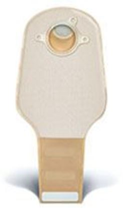 """Picture of Two Piece System Drainable 12"""" Pouch, 1¾"""" Flange, InvisiClose®, Filter, Opaque"""