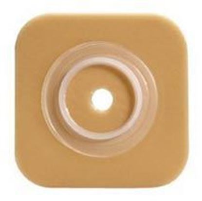 "Picture of Stomahesive® Skin Barrier, 7/8-1"" Cut-to-Fit, 1½"" Flange, No Tape, Box/10, Tan"