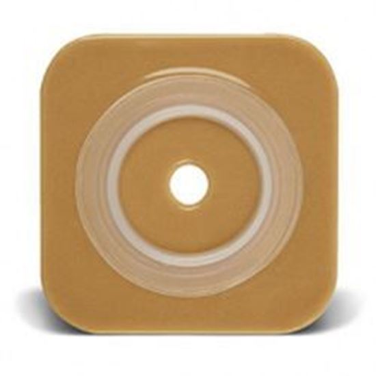 "Picture of Stomahesive® Flexible Skin Barrier, 1 7/8-2¼"" Cut-to-Fit, 2¾"" Flange, Tape, Tan"