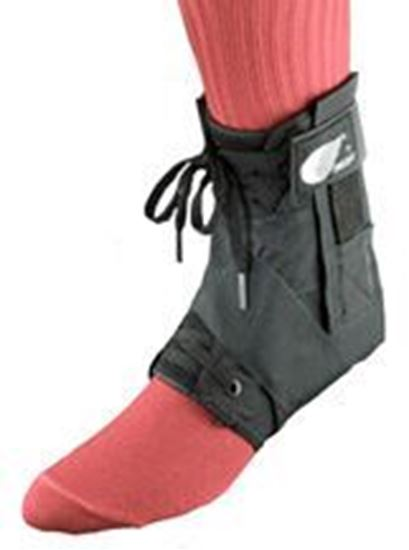 Picture of Swede-O® Strap Lok® Deluxe External Strap Ankle Brace, Black, L