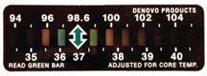 Picture of Temp Assure Forehead Thermometers, Disposable, 100/bx