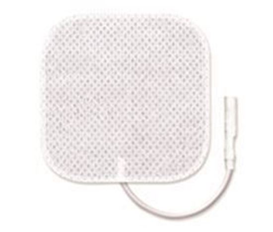 "Picture of Deluxe TENS Reusable Electrodes 2""x 2"""