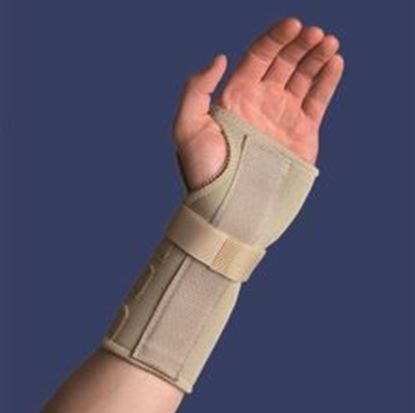 Picture of Thermoskin® Carpal Tunnal Brace, Beige, XS, Left
