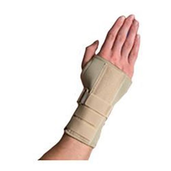 Picture of Thermoskin® Carpal Tunnel Brace with Dorsal Stay, Beige, XS, Left