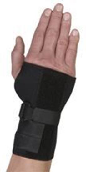 Picture of Thermoskin® Carpal Tunnel Brace with Dorsal Stay, Black, S, Right
