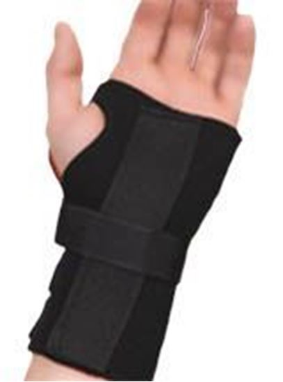 Picture of Thermoskin® Carpal Tunnel Brace with Dorsal Stay, Black, XS, Left