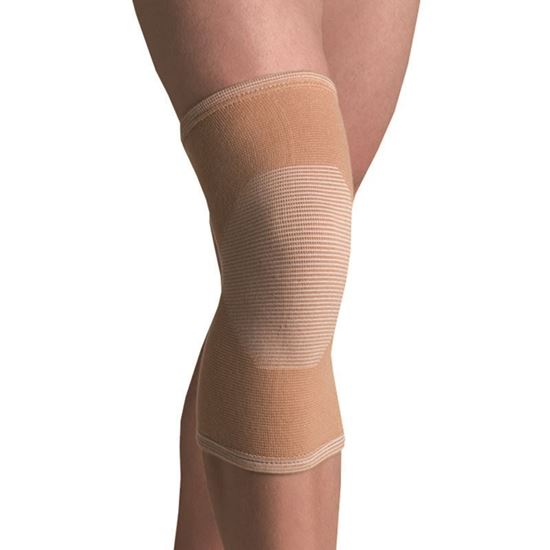 Picture of Thermoskin® Elastic Knee 4 Way Stretch Support, Beige, XL, Elastic