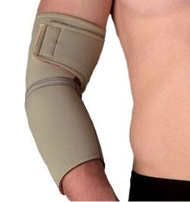 Picture of Thermoskin® Elbow Wrap, Beige, L