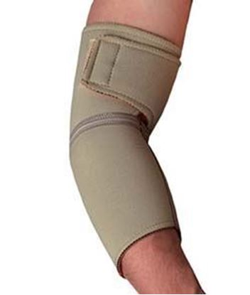 Picture of Thermoskin® Elbow Wrap, Beige, M