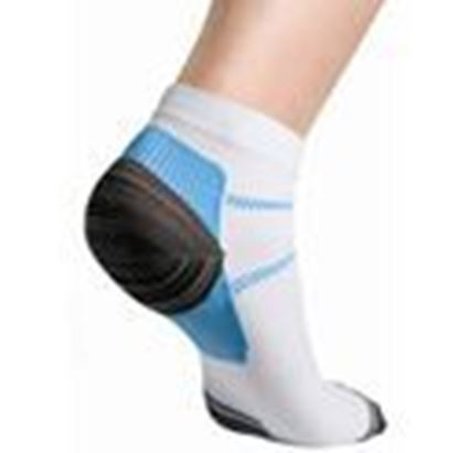 Picture of Thermoskin® FXT Compression Socks, White, M, 2 Socks/Pair