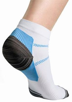 Picture of Thermoskin® FXT Compression Socks, White, S, 2 Socks/Pair