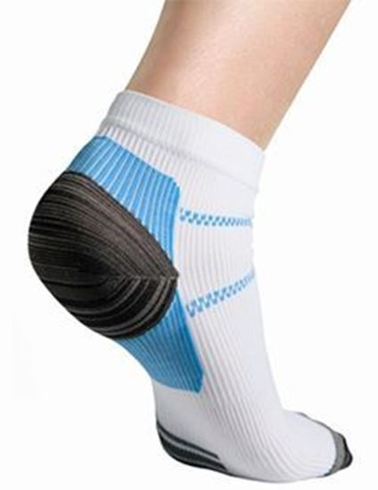 Picture of Thermoskin® FXT Compression Socks, White, XS, 2 Socks/Pair