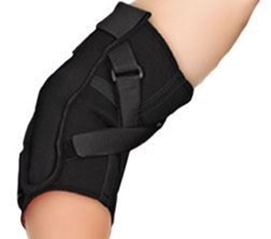 Picture of Thermoskin® Hinged Elbow, Black, L