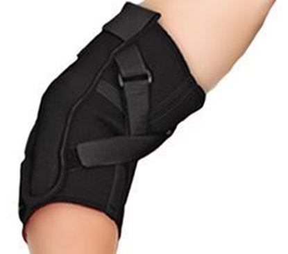 Picture of Thermoskin® Hinged Elbow, Black, XL